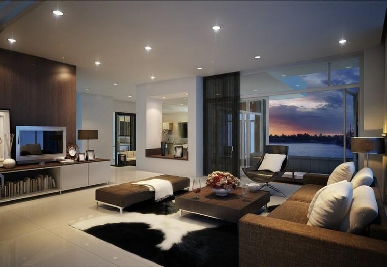 Interiores de casas modernas 25 estupendas ideas for Interior de la casa de madera moderna