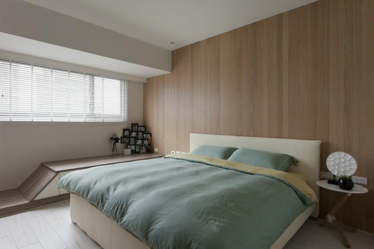 interiores minimalistas dormitorio fotos decorando ideas