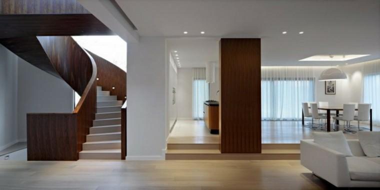 diseño de interiores modernos madera
