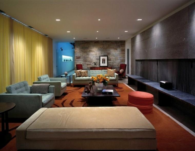 interiores modernos deco varios colores