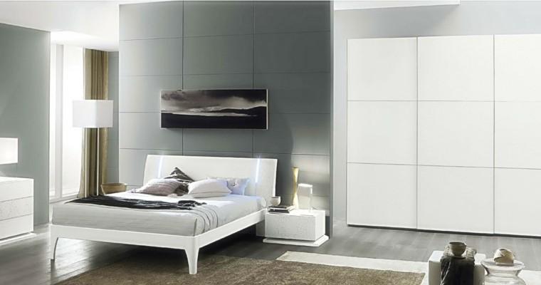 italiana habitacion cama cortinas cuadro