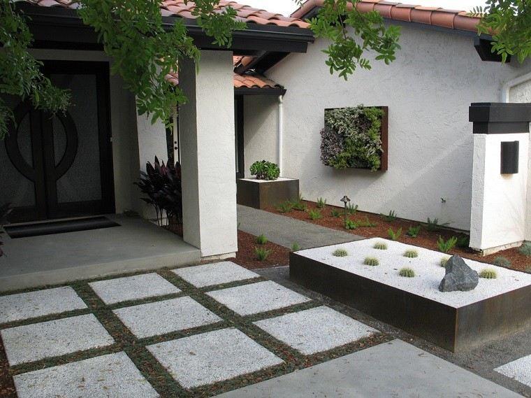 jardin vertical jardinera diseño zen