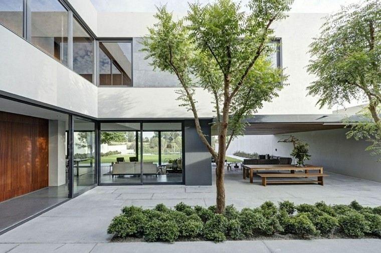 jardines modernos interior diseño paisaje