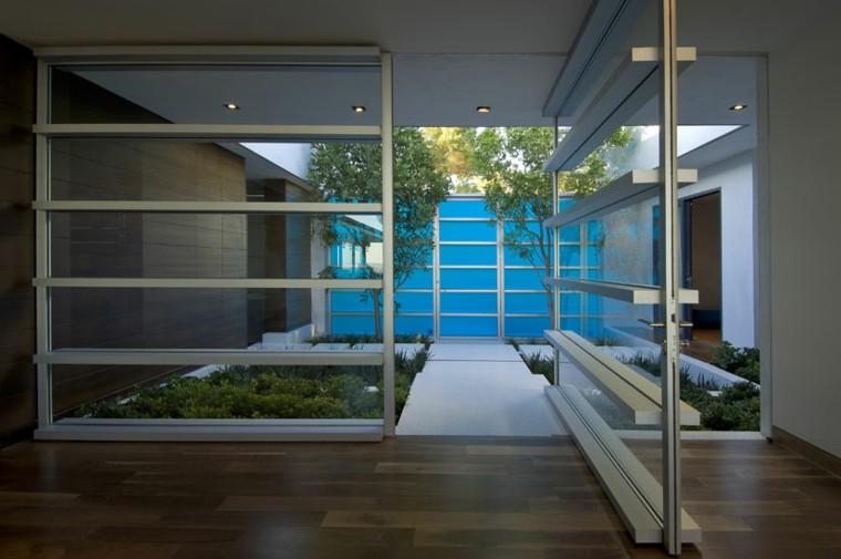 jardines pequeños diseño moderno minimalista