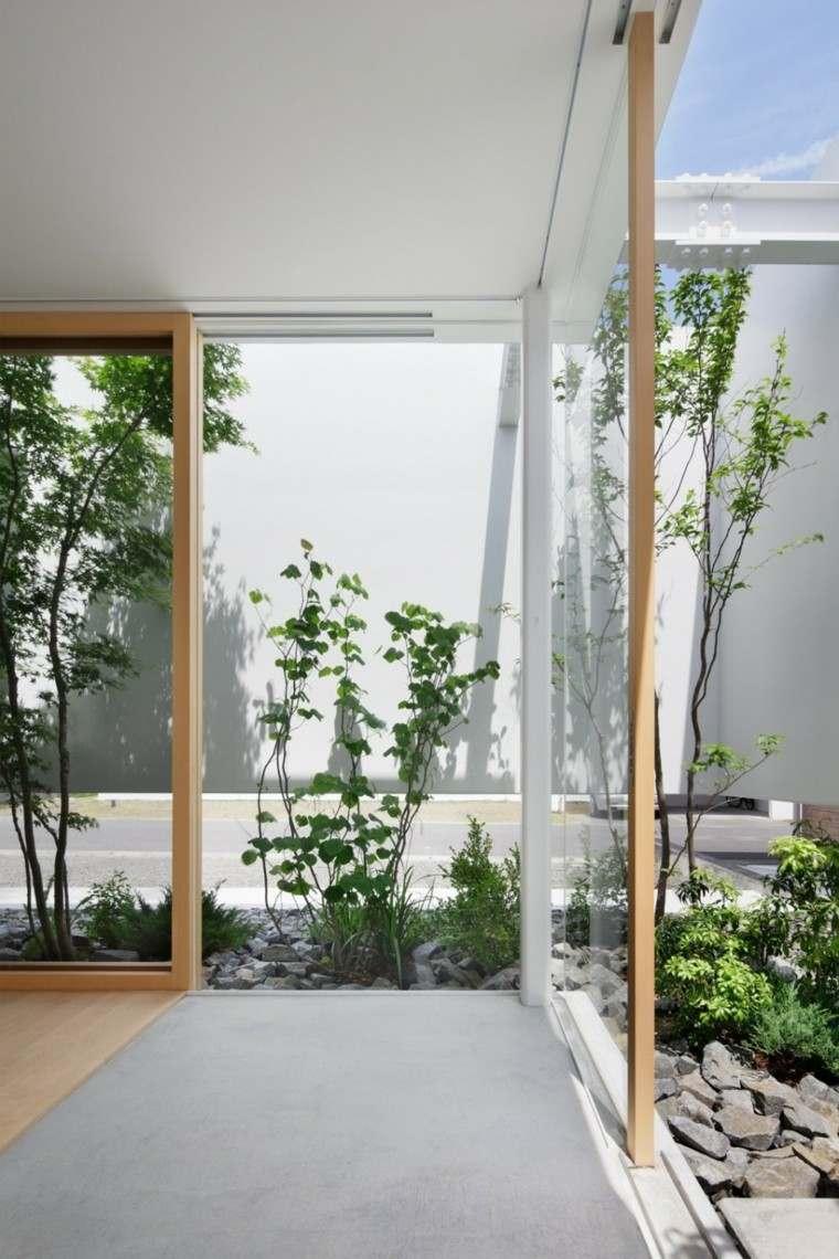 jardines pequeños diseño estilo zen