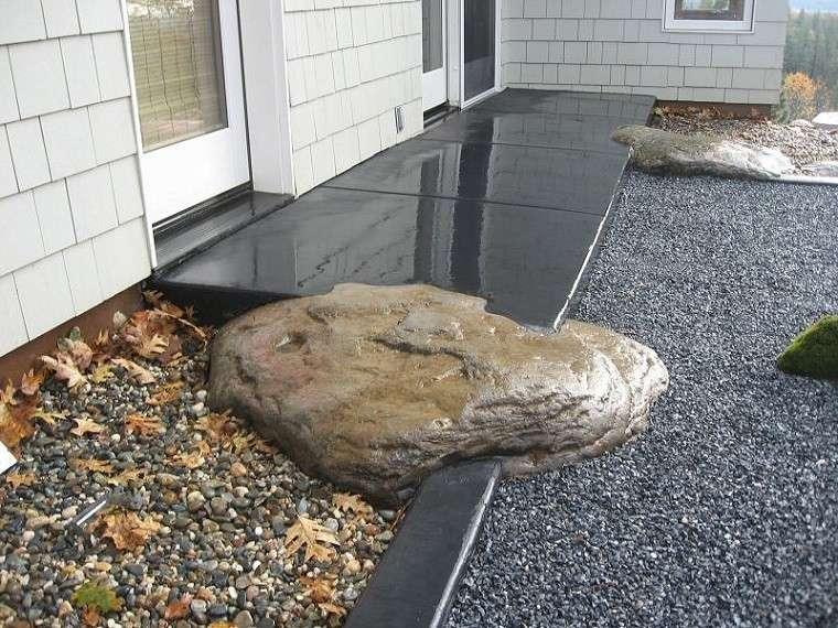 jardines zen rocas diseo moderno