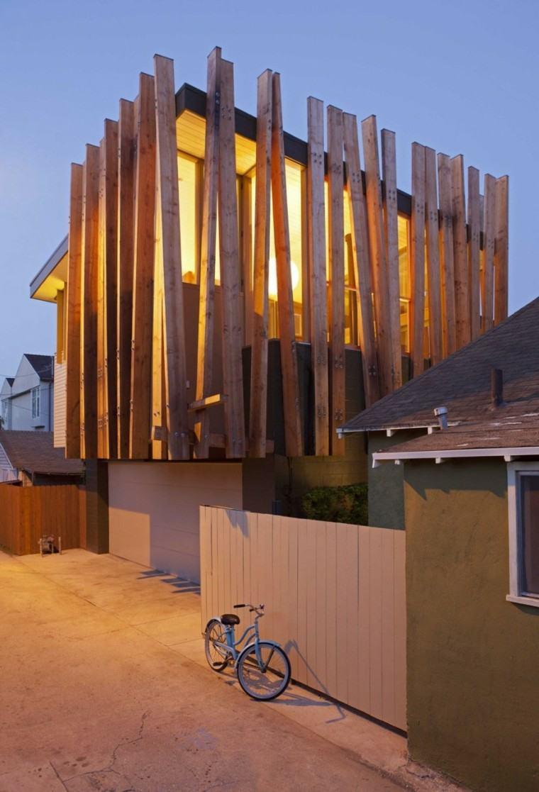 vallas metalicas de madera u hormig n 50 ideas interesantes. Black Bedroom Furniture Sets. Home Design Ideas