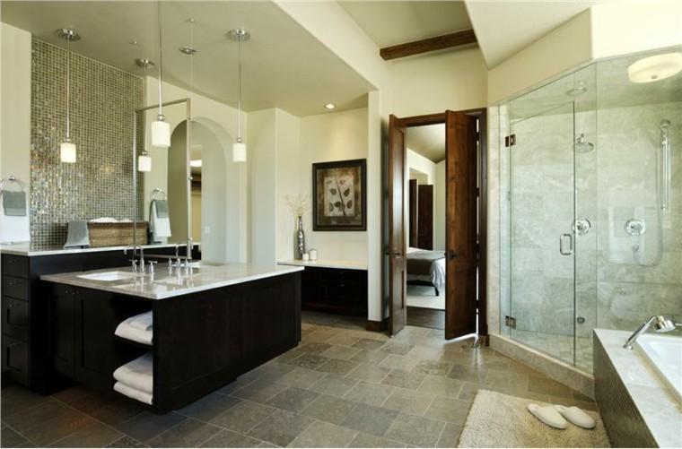 Most Beautiful Master Bathrooms: Ideas Decoracion Baño Y Estilos, 50 Variantes Decorativas