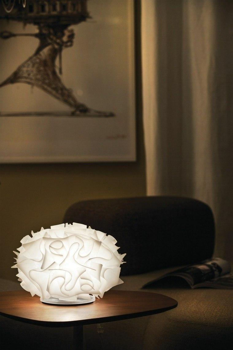 lmparas de mesilla de noche blanca diseno precioso ideas