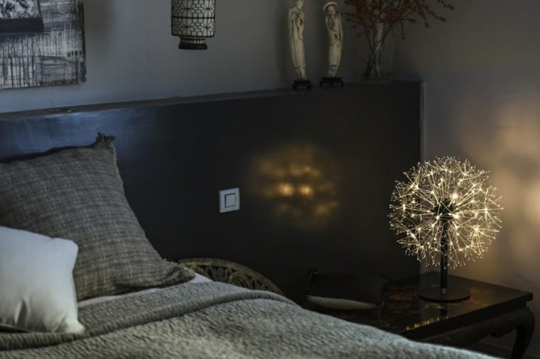 luamparas de mesilla de noche diseno preciosa moderna