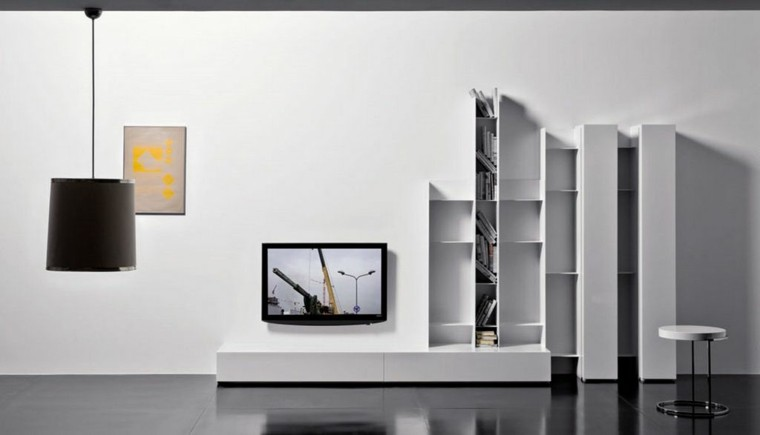 lamparas diseño elegante blanco cuadro