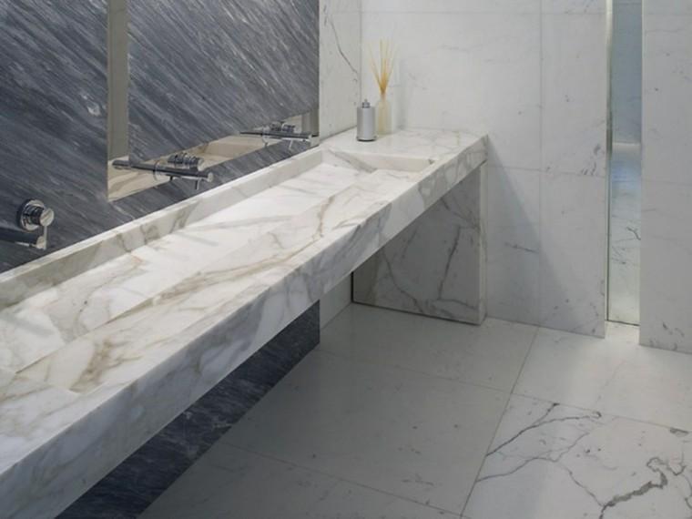 lavabo cubierto marmol modelo orizzonte