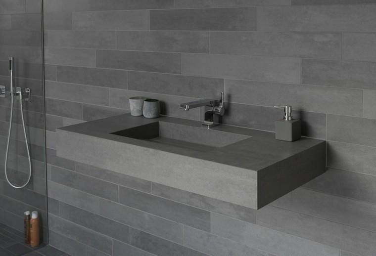Lavabos de dise o moderno 38 modelos espectaculares Diseno muebles de lavabo