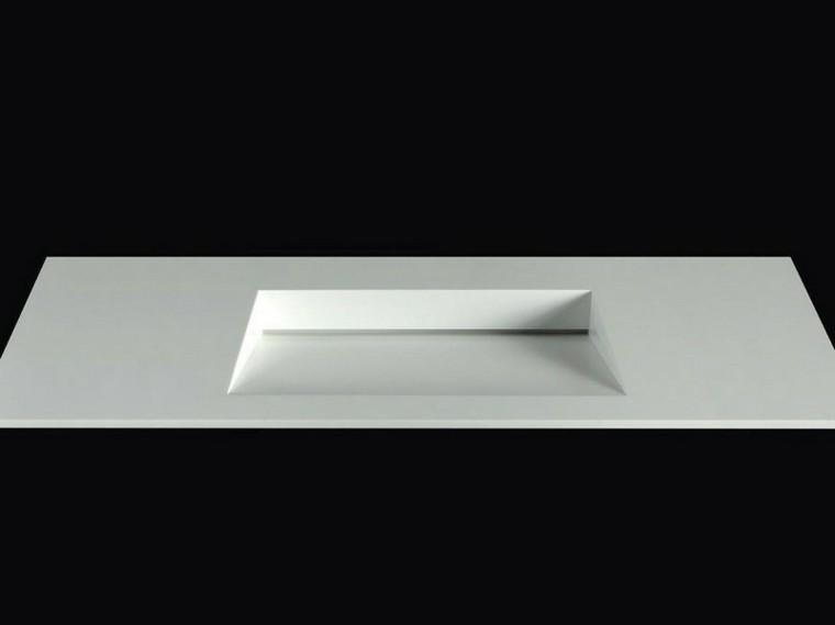 Muebles Para Baño Recubre:Diseño de lavabo en forma de ele