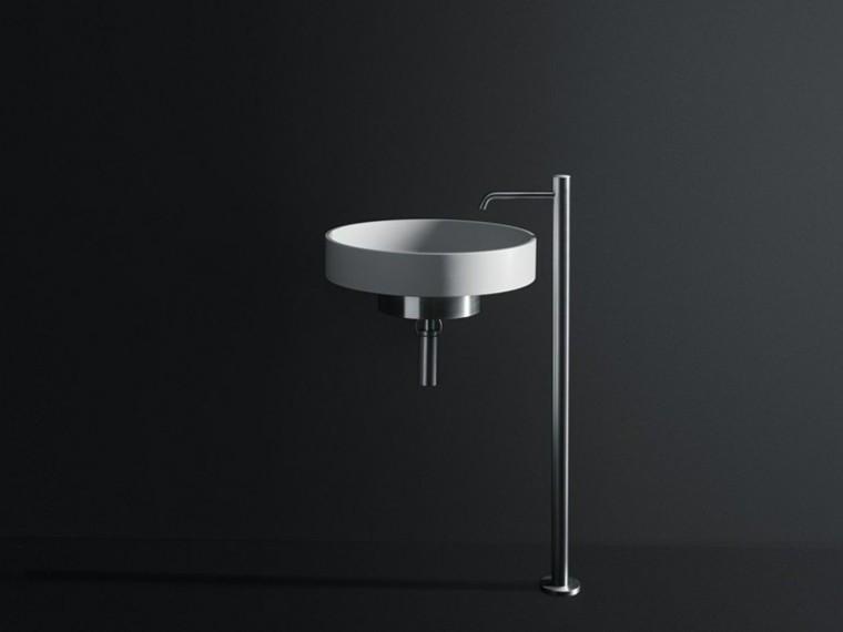 lavabo redondo diseño boffi moderno
