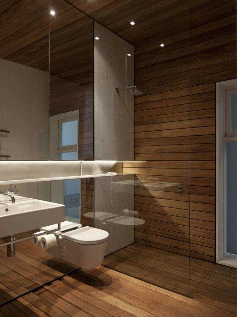 led alargados estante baño moderno