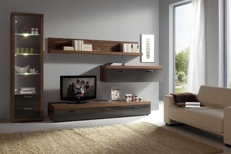 led italia diseño mueble cristal