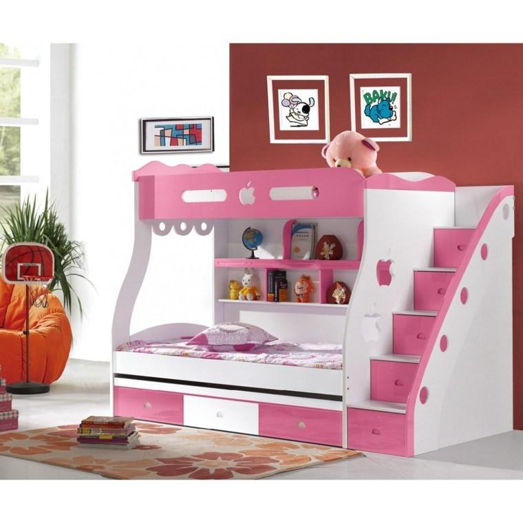 Litera creando habitaciones infantiles divertidas for Habitaciones para ninas con literas
