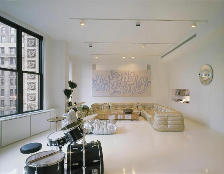 loft abierto sofas originales tambores amplio ideas