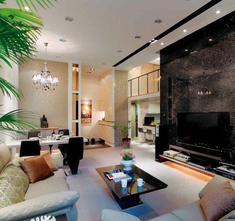 luces plantas moderno diseño interior