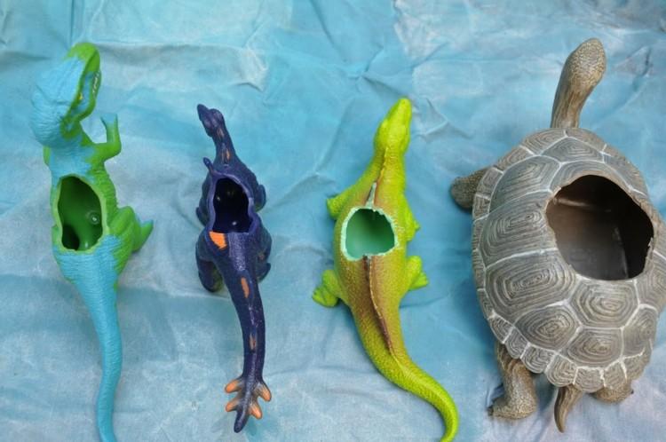 maceteros formas animales de juguete