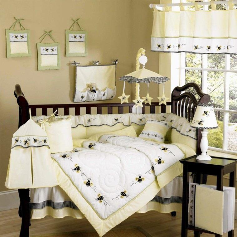 madera cama blanca carrito estrellas