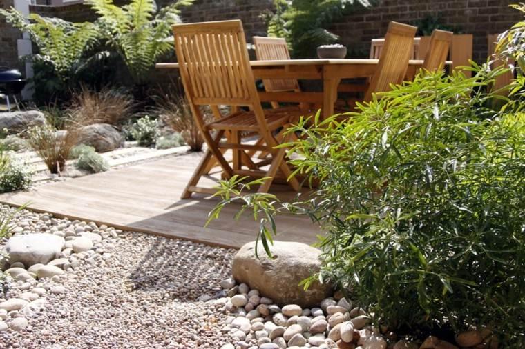 madera estufa terraza madera silla