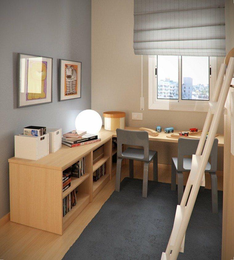 madera gris cuadros escalera cebra