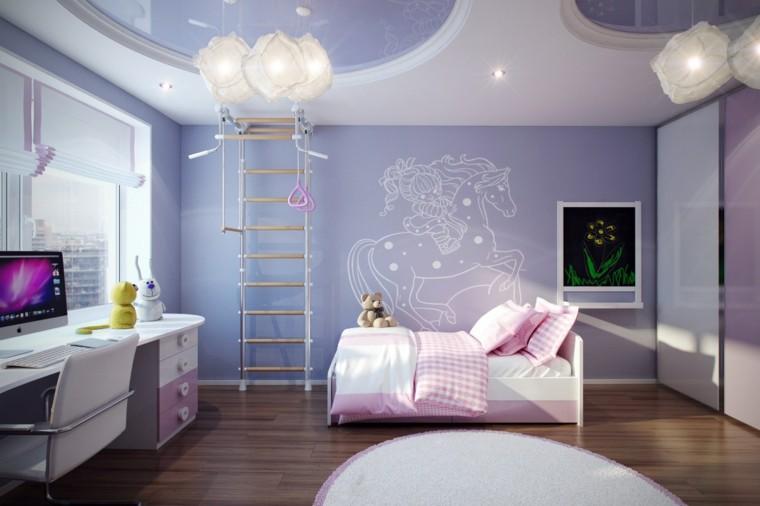Gama de colores 50 ideas para habitaciones de impacto - Casa conejo ...