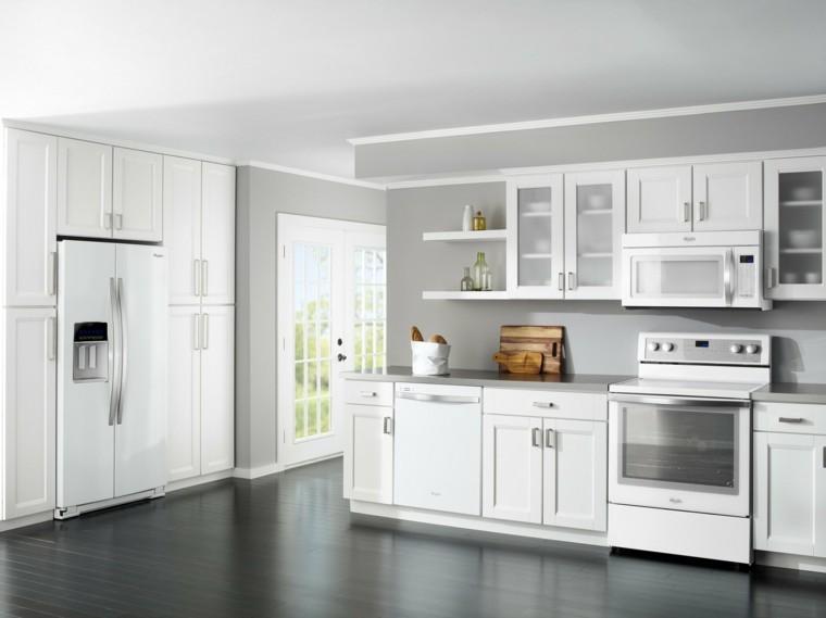 madera trabajo estante refrigerador utensilios