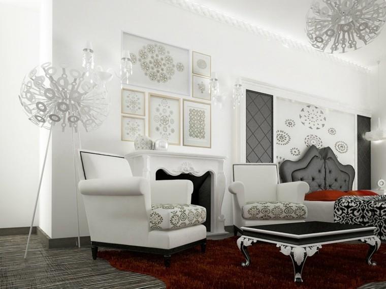 magia blanca alfombra roja lamparas preciosas ideas