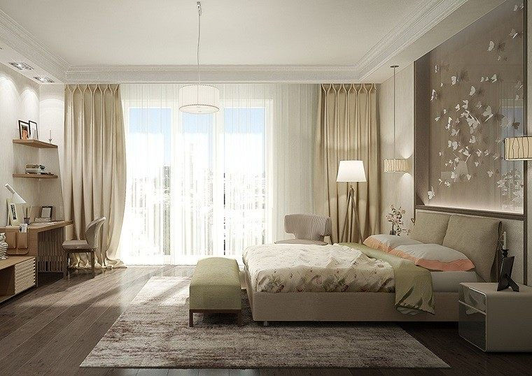 Cortinas para cuarto matrimonial - Tipos de cortinas para dormitorio ...