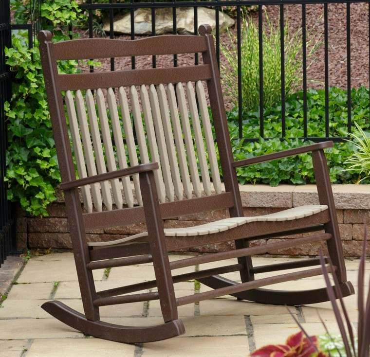Balancin jardin 25 ideas de diversi n al aire libre - Mecedoras de jardin ...