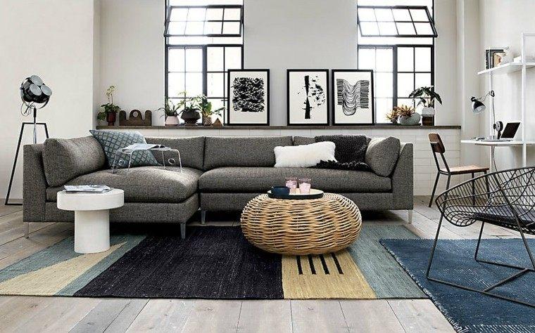 mesa-cafe-rattan-estilo-boho-salon-moderno