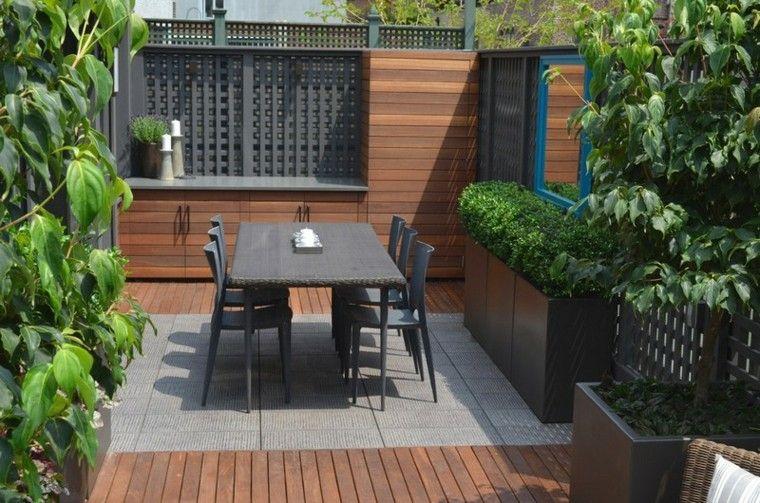 Espacio para jardines pequeños - 75 diseños impresionantes.