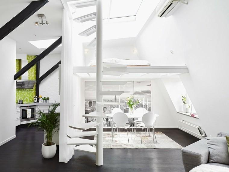 mesa sillas jarron blanco comedor precioso ideas