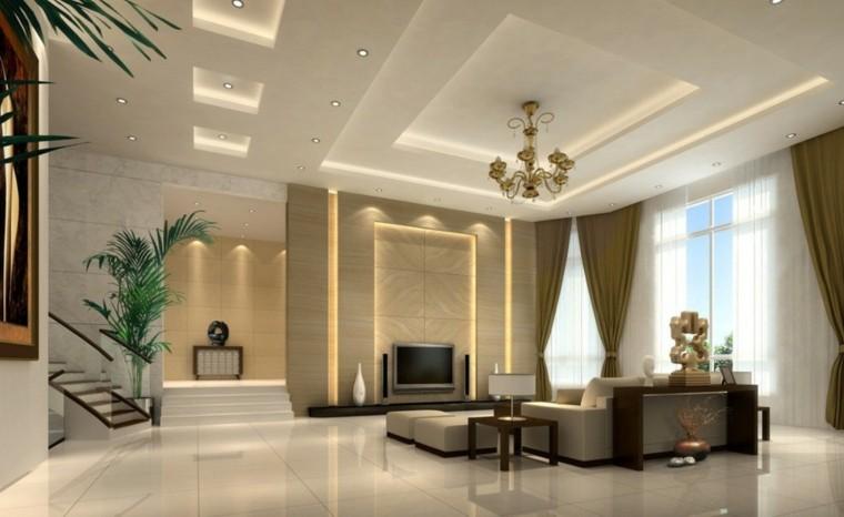 minimalismo estilo lujoso salon