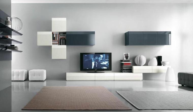 minimalista pastel paredes accesorios salon