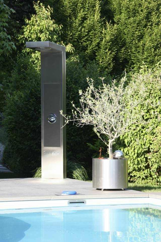 modelo ducha jardin diseño moderno