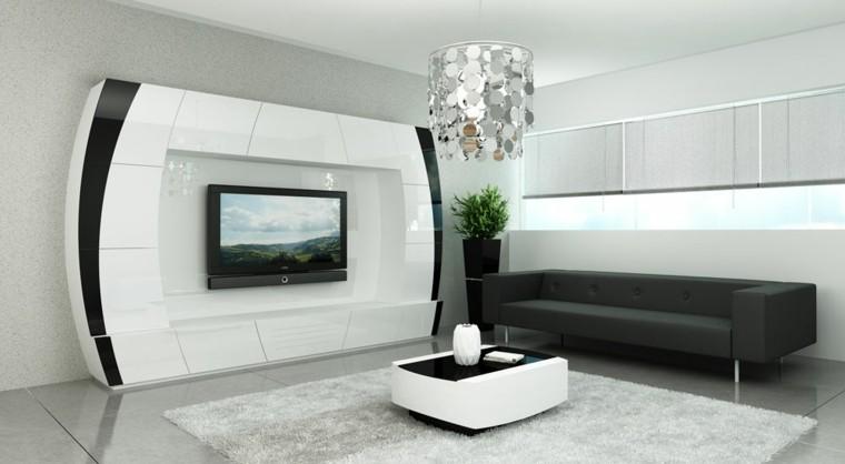 moderna blanco futurista alfombra macetero