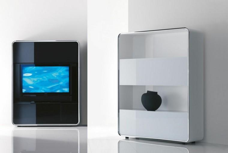 moderno cabinete tv inidad brillo
