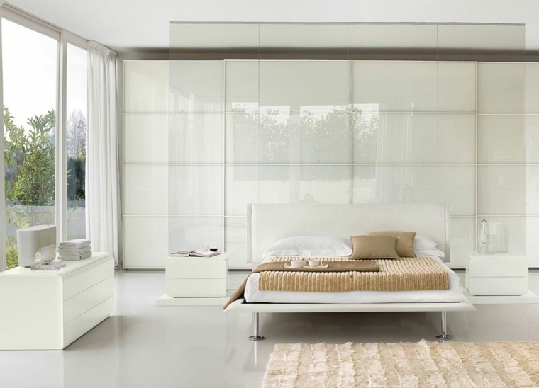 moderno jardines cortinas verano blanco