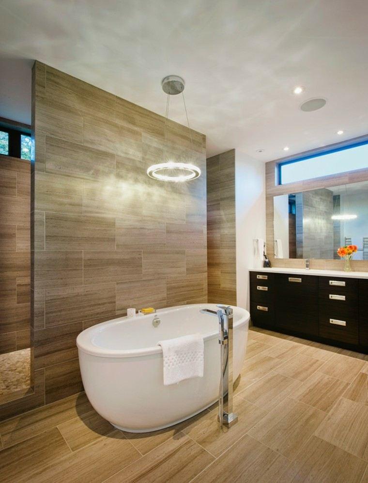 moderno lampara futurista ducha bañera