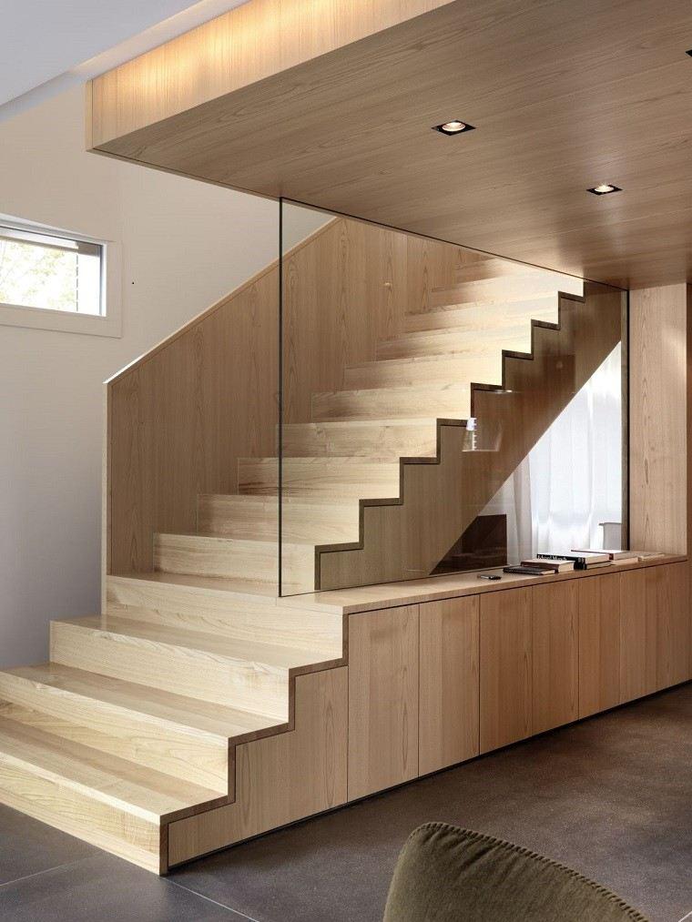 Decorar escaleras con estilo 50 ideas - Fotos de escaleras rusticas ...