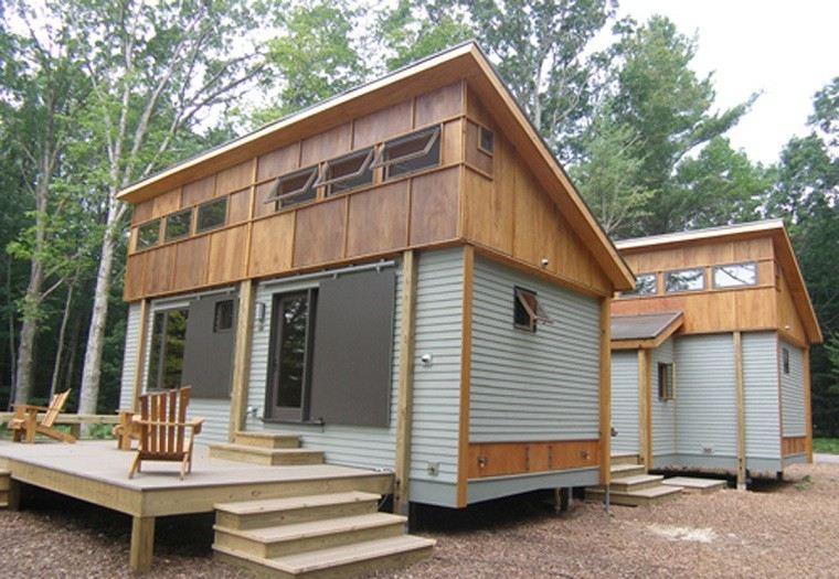 modulos casas madera bosque prefabricadas