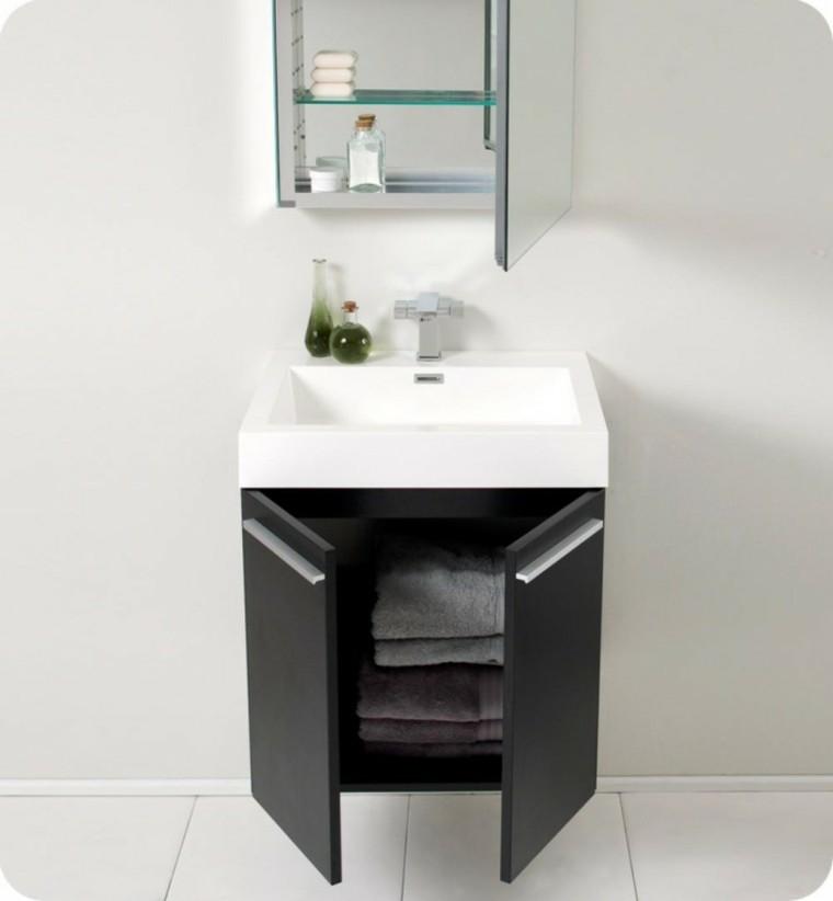 Lavabos de dise o moderno 38 modelos espectaculares for Mueble lavabo moderno