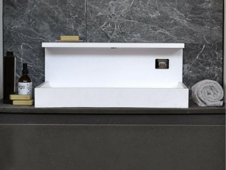 mueble lavabo marmol estilo moderno