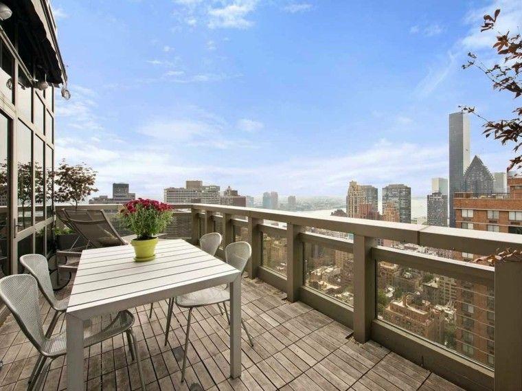 muebles comedor terraza atico vistas
