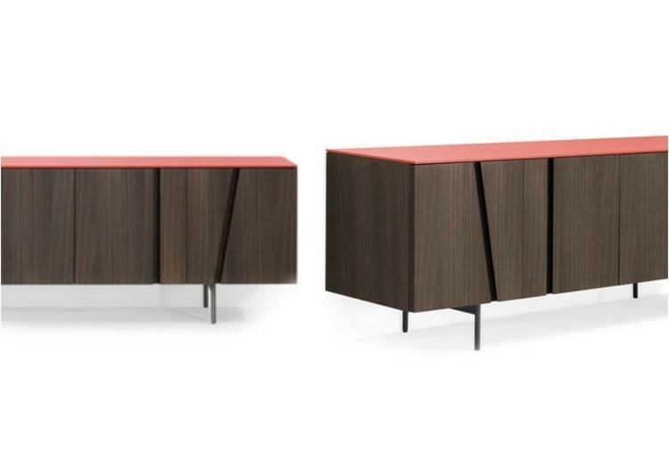 muebles de diseño comodas madera laminada