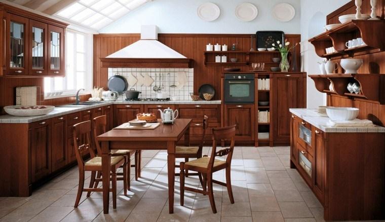 muebles cocina madera laminada
